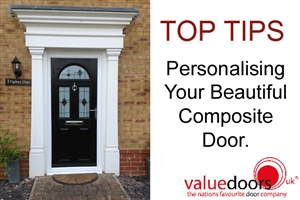 Personalising Your Beautiful Composite Door.