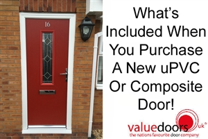 What's Included When You Purchase A New uPVC Or Composite Door!