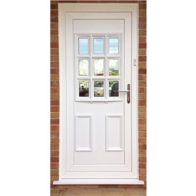 Cottage Bow PVC Door