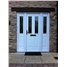 The Cardiff Composite Door in White with Matching Side Panels