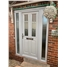 Bespoke Composite Door with Classic Glazing and Sidelights