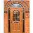 The Leeds Composite Door in Oak with Arched Frame