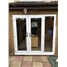 uPVC French Door with Sidelight