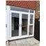 Bespoke uPVC French Doors with Toplight and Window in Sidelight