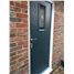 The Taunton Composite Door in Blue with Blue Crystal Harmony