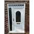 Epsom uPVC Door with Sidelight and Toplight