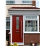 The York Composite Door in Red with Simplicity