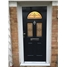 The Glasgow Composite Door in Black with Black Crystal Harmony