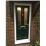 The Cardiff Composite Door in Black with Bespoke Diamonds (no colour)