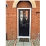 The Cardiff Composite Door in Blue with Blue Fusion Ellipse