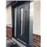 Vermont with Bar Handle Rockdoor in Grey