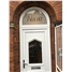 Oswestry China Cluster uPVC Door with Toplight