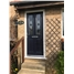 The Cardiff Composite Door in Blue with Black Fusion Ellipse