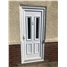 Irvine Glazed uPVC Door in White