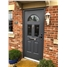 Ultimate Tennessee Rockdoor in Anthracite Grey with Crystal Bevel