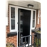The Norwich Composite Door in Black with Glazing