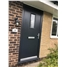 The Taunton Composite Door in Black