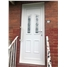 Doncaster Queen Anne Bevel uPVC Door in White