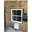 uPVC Sliding Sash Window in White