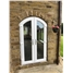 Arched uPVC French Door