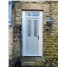 The Cardiff Composite Door in bespoke RAL Colour with Toplight