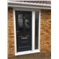 Illinois Rockdoor with Glazing and Toplight