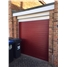 Roller Shutter Garage Door in Red