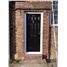 The Hull Composite Door in Black