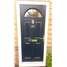 The Jamestown Composite Door in Black with Clear Glazing