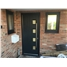 The Norwich Composite Door in Black with Clear Glazing