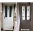 Internal & External - The Cardiff Composite Door in White