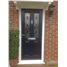 The Cardiff Composite Door in Blue with Blue Diamonds