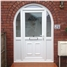 Kirkcaldy uPVC Door in Arched Frame with Glazed Surround