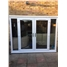uPVC French Door in White with Sidelights