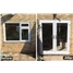 Before & After - uPVC Window to uPVC French Door