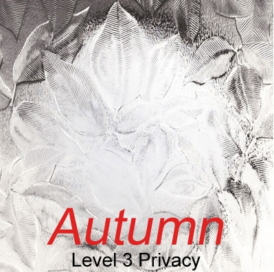 Autumn level 3 privacy glazing