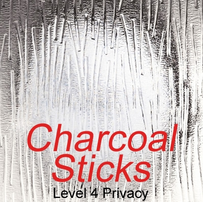 Charcoal sticks level 4 glazing