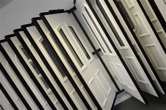uPVC door selection: largest showroom in Yorkshire