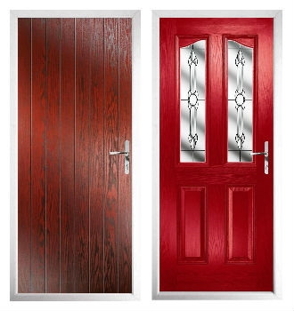 ... is a deeper shade of red - which is one of our most common door shades u2013 will help to add a sophisticated touch to the inside and outside of your home. & How To Use Colour In Your Home