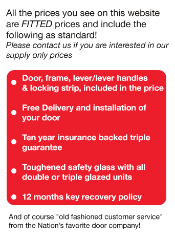Value Doors uPVC Doors and Composite Doors USP's