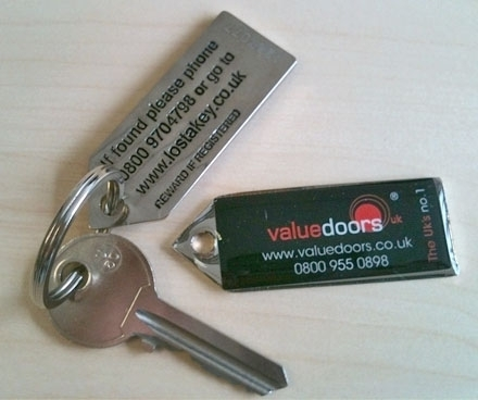 Value Doors UK Key Return
