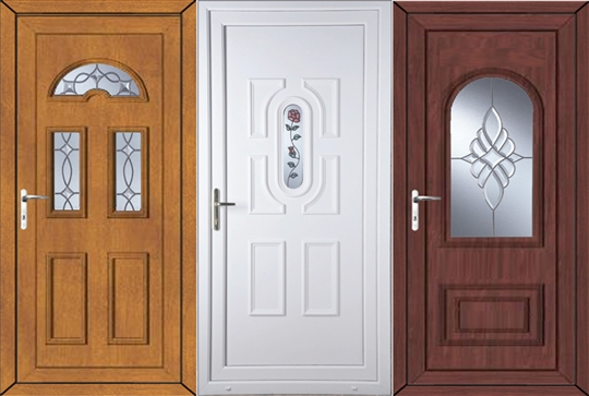 Our upvc coloured doors for Coloured upvc doors