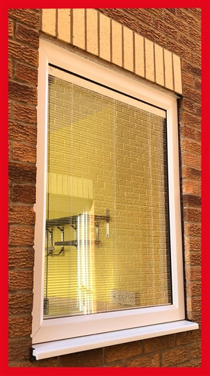 Integral Blinds in Window