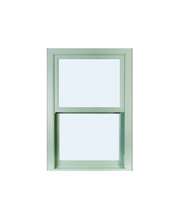 uPVC Sliding Sash Windows in Chartwell Green