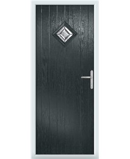 The Reading Composite Door in Grey (Anthracite) with Simplicity