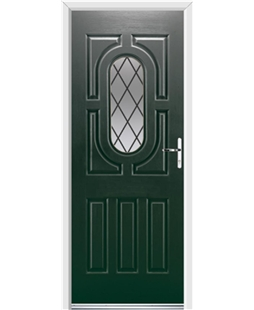 Ultimate Arcacia Rockdoor in Emerald Green with Diamond Lead