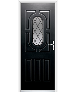 Ultimate Arcacia Rockdoor in Onyx with Diamond Lead
