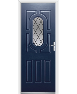 Ultimate Arcacia Rockdoor in Sapphire Blue with Diamond Lead