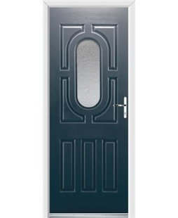 Ultimate Arcacia Rockdoor in Anthracite Grey with Gluechip Glazing