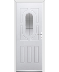Ultimate Arcacia Rockdoor in Blue White with Square Lead
